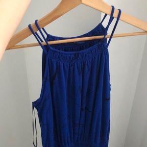 Apt 9 - royal blue maxi dress
